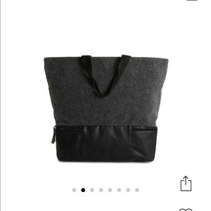 DSW Grey/Black tote